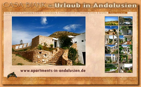 Casa Biank - Urlaub in Andalusien